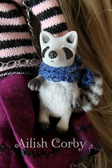 Raccoon (AilishCorby) Tags: mapache juguete toy