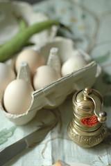 eggs & pepper (Un tocco di zenzero) Tags: break sandwich eggs brunch fingerfood pausa uova untoccodizenzero agretti paninogourmet barbadelfrate