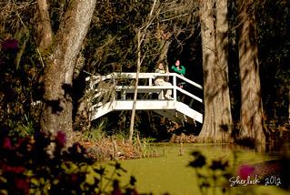 Deb & Rachel on Bridge