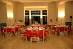 Dinner setting at Serralves