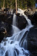 Waterfall on Tioga Road (Deby Dixon) Tags: travel water photography waterfall nationalpark falls adventure yosemitenationalpark deby allrightsreserved 2012 slowexposure tiogaroad debydixon debydixonphotography
