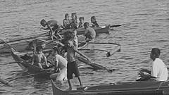 sea dance (AnaZamora) Tags: sea people blackandwhite history tribe chldren badjao samal fujifilmfinepixs2950photography