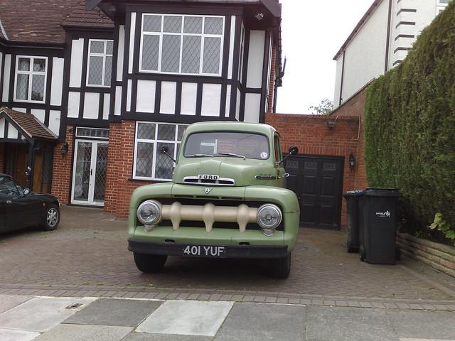 green ford pickup f100 1951 uksenator