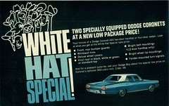 1968 Dodge Coronet 4 Door Sedan (coconv) Tags: pictures auto door old white classic cars hat car sedan vintage magazine ads advertising cards photo flyer automobile post image photos antique postcard 4 ad picture images special advertisement vehicles photographs card photograph postcards vehicle dodge 1968 mopar autos collectible collectors brochure coronet automobiles dealer 68 prestige