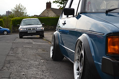 Just sat! (smith-jack) Tags: rabbit vw golf volkswagen low stance mk1 vabric fifteen52