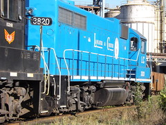 Lancaster and Chester GP38 #3820 (lionel682) Tags: railroad plant adm south chester carolina lancaster daniels division archer midland kershaw emd gp382 gp38 3820 electramotive