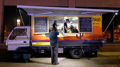 20130531-01-TacoTaco van in Hobart (Roger T Wong) Tags: city night nocturnal australia taco tasmania takeaway hobart streetfood foodvan tacotaco canoneos6d tamron2470f28vc tamronsp2470mmf28diusdvc