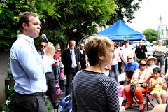 White Ribbon Day BBQ - Balmain (Greens MP Jamie Parker, Member for Balmain) Tags: greens balmain violenceagainstwomen whiteribbon whiteribbonday jamieparker balmainrotaryclub