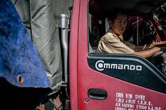 commando ambushed (www.facebook.com/udjinnfauxtography) Tags: streetphotography kl kualalumpur jalanrajalaut malaysia asia candid street commando lorry truck availablelight panasonic gf1