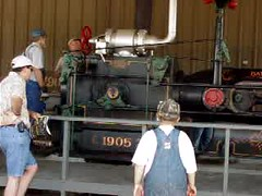 1905 Bates-Corless Steam Engine (lionel682) Tags: park old reunion hp farm engine steam 350 denton 1905 flywheel southeastern threshers 350hp batescorliss