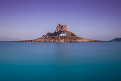 Island III (Robert Mehlan - Munich) Tags: sonnenuntergang kirche kos insel fels griechenland einsamkeit felsen kapelle langzeitbelichtung blauestunde ruhe ef1740mmf4lusm canon5dmkii robertmehlan kastr