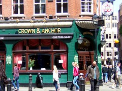Crown & Anchor Pub, London (teresue) Tags: uk greatbritain england london pub unitedkingdom crownanchor londonpub 2013