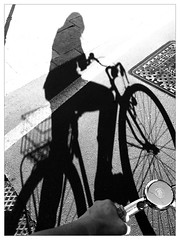 summerTown (secondfloor - silvia izzi) Tags: shadow portrait selfportrait milan me milano ombra bored moi biking bici summertime bicicletta uploaded:by=flickrmobile flickriosapp:filter=panda