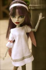 Morgana (Lenekie) Tags: monster outfit high doll handmade cam create mummy createamonster