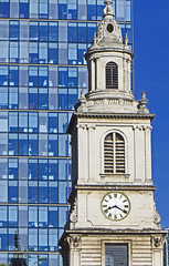 St Botolph without Bishopgate Clock Tower (SONICA Photography) Tags: city urban london architecture canon photo office foto photos photographic photographs photograph fotos londres lin londra tower42 bishopsgate cityoflondon londinium 99bishopsgate houndsditch londonist fotograaf londonengland photographes londonphotos 2013 stbotolphwithoutbishopsgate eztd eztdphotography photograaf eztdphotos canonpowershot240sxhs eztdgroup no1photosoflondon londonimagenetwork ceztd