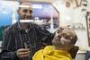 Barber's Shop (James Sebright) Tags: man male men middleeast barber shave hairdresser syria blade hairdressers razor barbers syrian maleness