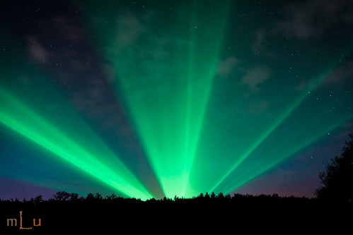 Aurora borealis Hunsrück (Fake)