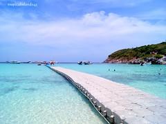 View of Raya Island (tropicalisland045) Tags: sea beach thailand tropical       rayaisland rachaisland