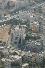 Amman Pedimented Building (APAAME) Tags: flight1 flying2006 digitalcamera aerialarchaeology aerialphotography middleeast airphoto archaeology ancienthistory