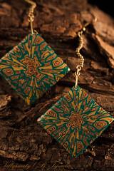 Earrings (Villysweety) Tags: polymerclay earrings villygoutova