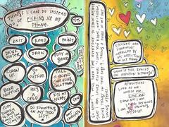 Scan 3 (belindafireman) Tags: art rainbow colorful acrylic journal sketchbook marker
