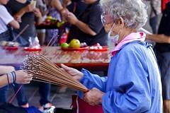 Incense sticks (saanjaybhatia) Tags: temple sticks raw courtyard inner taipei incense busiest xintian saanjaybhatia