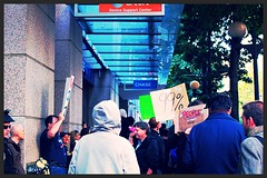We are the 99% and we still are... (Hopeisalot) Tags: occupywallstreet wearethe99 occupyseattle occupyeverywhere occupychase