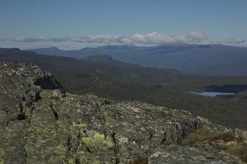Tekslehogget: Utsikt mot Andersnatten og Norefjell