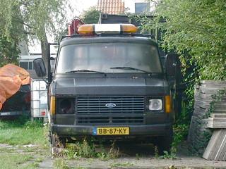 1981 FORD Transit 190 C-C-Light Truck