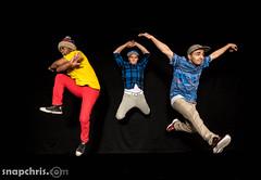 Trio of B-Boyz : jumping (tibchris) Tags: trioofbboyz trio dancer breakdancers portrait snapchris arieldanceproductions jumping ariel vivd color moves poses dance dancing danceclasses danceclass learntodance