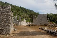 a few walls (mdoughty68) Tags: turkey ancient ruins roman turkiye historical lycians