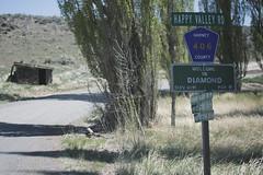 Diamond - Home of the best food east of Bend (gabriel amadeus) Tags: camping mountain lake bike bicycle oregon desert or dry sage mtb steens mountainbiking gravel alvord southeastern bikepacking traveloregon