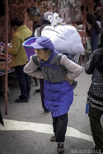 Na targu w Longpan