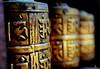 Prayer Wheel (YellowSingle 单黄) Tags: nepal wheel temple golden nikon prayer himalaya patan f28 2470mm boudhism d700