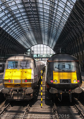 Kings Cross Competitors (MSRail Photography) Tags: passenger grandcentral 43 hst dvt class43 virginec