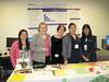 (left) Leilanie Ayala, MSN, RN, CNS-BC, NP-BC; Pat Matos, DNP, RN, NEA-BC; Jamie Chazen, MHP; Erika Lozano, BSN, RN; Masae Yasuda, MSN, RN-BC