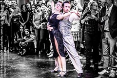Ioanna and Jorge, Brussels, Tango Night at Viage, Mar. 2015