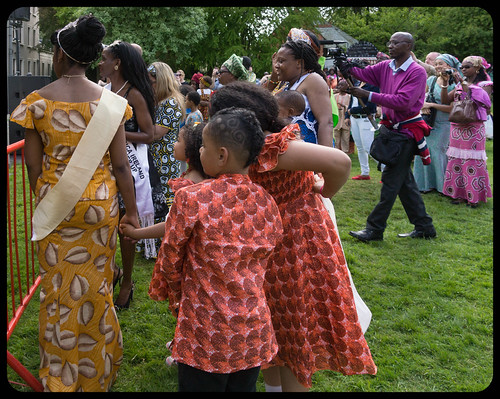 THE BEST DRESSED PEOPLE AT AFRICA DAY 2015 [FARMLEIGH HOUSE IN DUBLIN] REF-104469