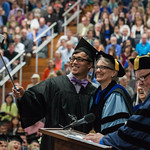 "<b>Commencement 2015</b><br/> Commencement 2015. May 24, 2015. Photo by Kate Knepprath<a href=""http://farm6.static.flickr.com/5454/18037500276_c55ac09bc2_o.jpg"" title=""High res"">∝</a>"