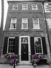 Charleston, South Carolina (nadine3112) Tags: haus charleston colorkey colorkeying