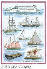 6 (Liepziede) Tags: postcrossing postcard sailingboat hughweir tomasporcell boat