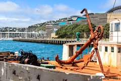 Wellington Harbour (Andrs Guerrero) Tags: harbour islanorte newzealand nuevazelanda puerto wellington oceana oceania revelar mar sea ancla anchor