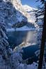 winter @ Oeschinensee (BE) (Toni_V) Tags: m2402108 rangefinder digitalrangefinder messsucher leica leicam mp typ240 28mm elmaritm hiking wanderung randonnée escursione oeschinensee kandersteg berneroberland berneseoberland unescowelterbe unescoworldheritage bergsee mountainlake reflections snow schnee switzerland schweiz suisse svizzera svizra europe alps alpen ©toniv 2016 161112 winter mountains berge