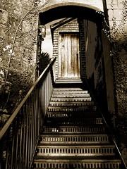 Scotney Castle, Aug 2012 (35)abc (Padski1945) Tags: englishgardens gardensofkent scenesofkent sepia sepiatone scotneycastlelamberhursttunbridge wellstn3 8jn kent mono monochrome