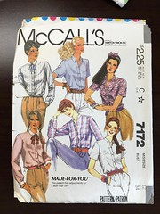 7172 (mrogers1@uw.edu) Tags: cupsizes 1980s blouse woven mccalls