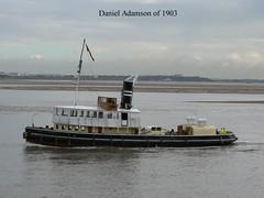 Daniel Adamson (owbman) Tags: daniel adamson danny 1903 steam tug manchester ship canal
