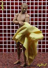 №380. New Bathrobe for Action Man (OylOul) Tags: 16 action figure hottoys damtoys custom
