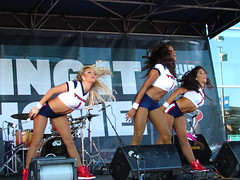 IMG_6016 (grooverman) Tags: houston texans cheerleaders nfl football game nrg stadium texas 2016 budweiser plaza nice sexy legs stomach canon powershot sx530