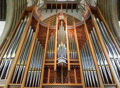 Merton College Chapel Organ, Merton College, Oxford Sep 2016 (allanmaciver) Tags: merton collge chapel organ huge instrument style class pipes music beauty oxford england city university allanmaciver