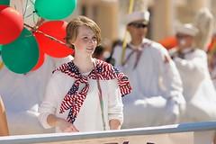 Italian Heritage Parade 2016 (--Mark--) Tags: gracewaychurch sf columbusday 148thannualitalianheritageparade northbeach littleitaly balloonplatoon sanfrancisco pleasanton canonef135mmf2lusm